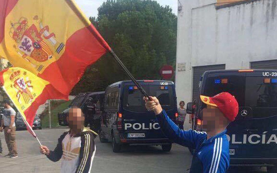 """La resistencia gitana en la capital de Puigdemont: """"No permitiremos la independencia"""""""