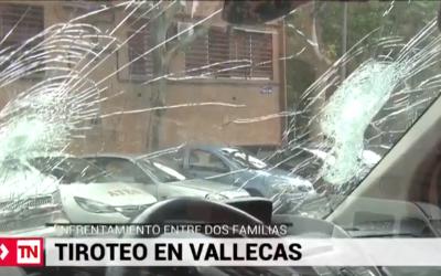 Reyerta a tiros en plena calle de Entrevías entre dos clanes