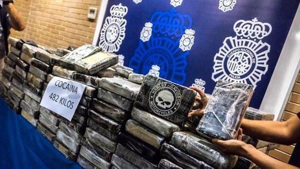Un gitano detenido con 482 kilos de cocaína en el coche, alega que es para 'consumo propio'