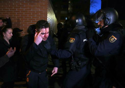 Atacan la casa del clan implicado en el crimen de un hombre en Vallecas