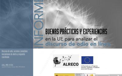 Buenas prácticas y experiencias en la UE para analizar el discurso de odio en línea